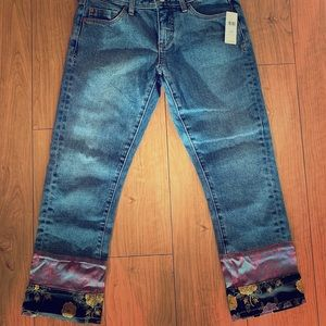 Anthropologie Pilcro Slim Boyfriend Jeans 26P NWT